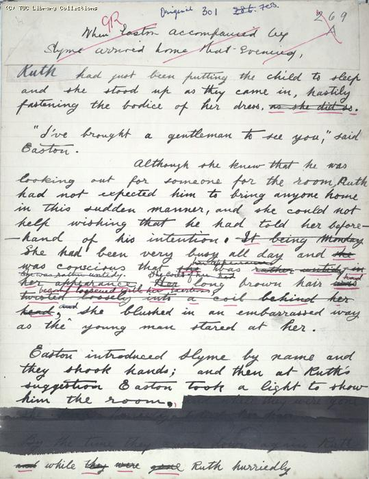 The Ragged Trousered Philanthropists - Manuscript, Page 301
