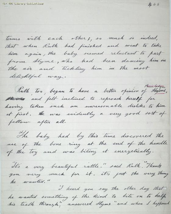 The Ragged Trousered Philanthropists - Manuscript, Page 465