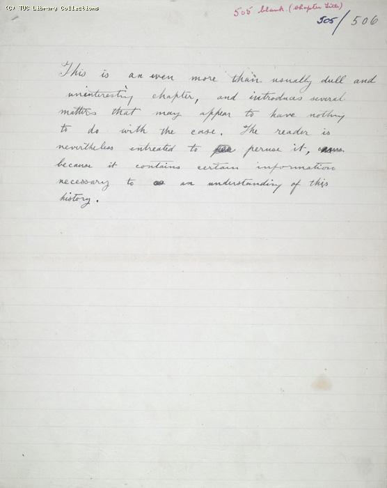 The Ragged Trousered Philanthropists - Manuscript, Page 505