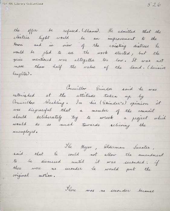 The Ragged Trousered Philanthropists - Manuscript, Page 526
