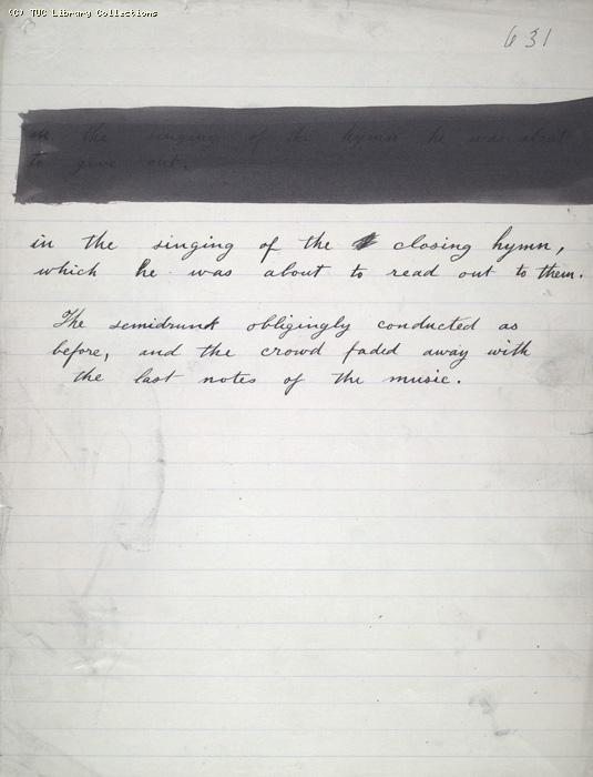 The Ragged Trousered Philanthropists - Manuscript, Page 631