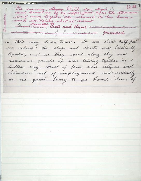 The Ragged Trousered Philanthropists - Manuscript, Page 633