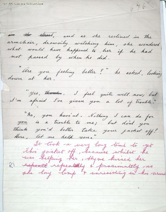 The Ragged Trousered Philanthropists - Manuscript, Page 676