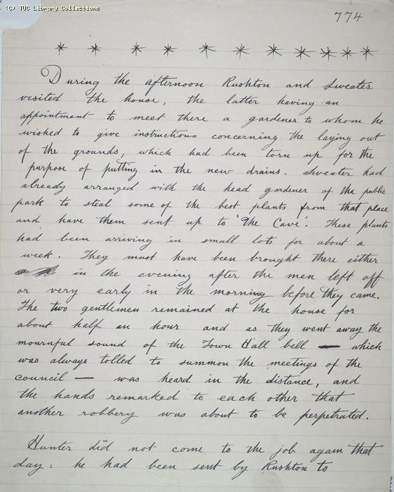 The Ragged Trousered Philanthropists - Manuscript, Page 774