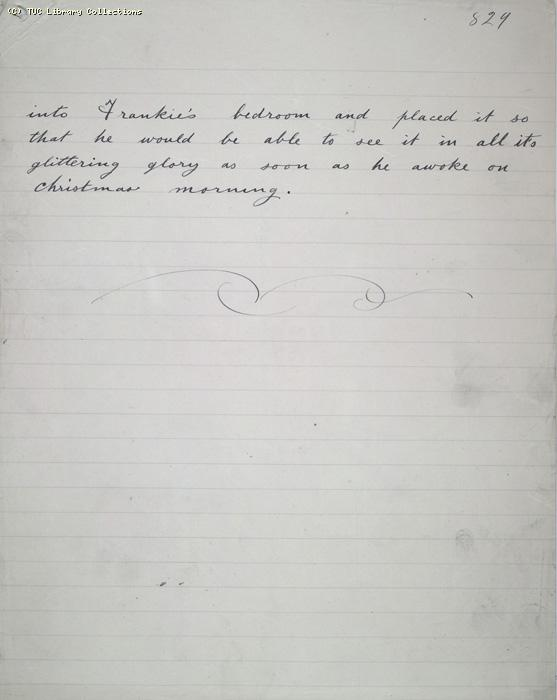 The Ragged Trousered Philanthropists - Manuscript, Page 829