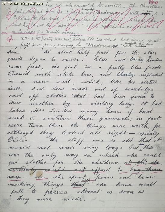 The Ragged Trousered Philanthropists - Manuscript, Page 830
