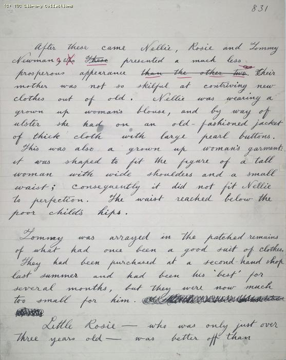 The Ragged Trousered Philanthropists - Manuscript, Page 831