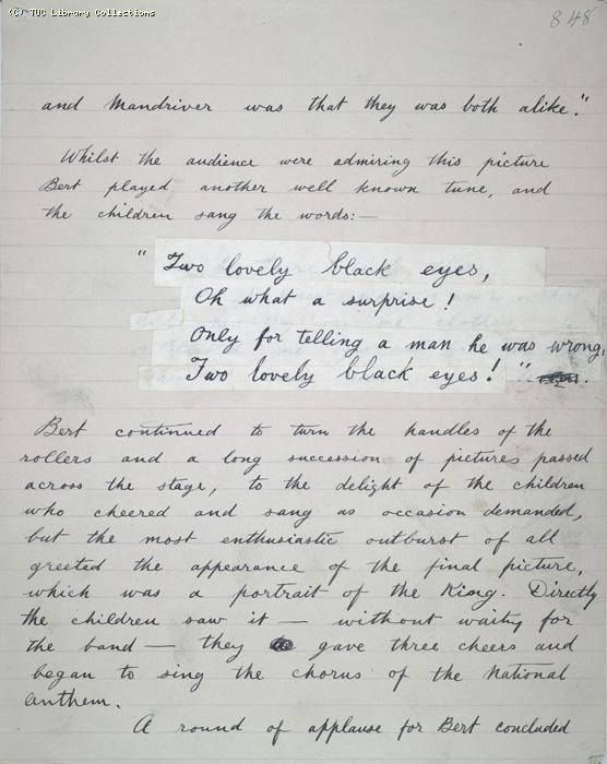 The Ragged Trousered Philanthropists - Manuscript, Page 848