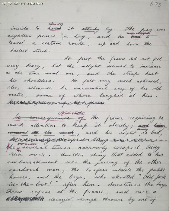The Ragged Trousered Philanthropists - Manuscript, Page 873