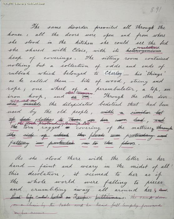 The Ragged Trousered Philanthropists - Manuscript, Page 891