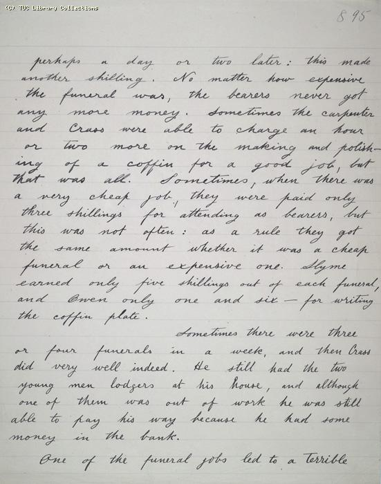 The Ragged Trousered Philanthropists - Manuscript, Page 895