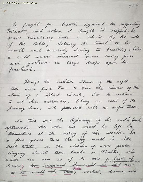 The Ragged Trousered Philanthropists - Manuscript, Page 926