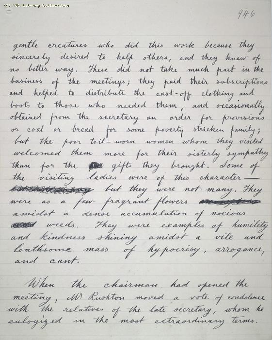 The Ragged Trousered Philanthropists - Manuscript, Page 946