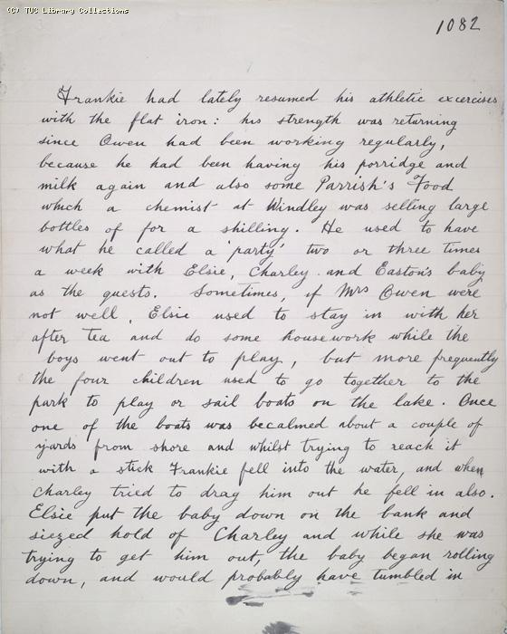 The Ragged Trousered Philanthropists - Manuscript, Page 1082