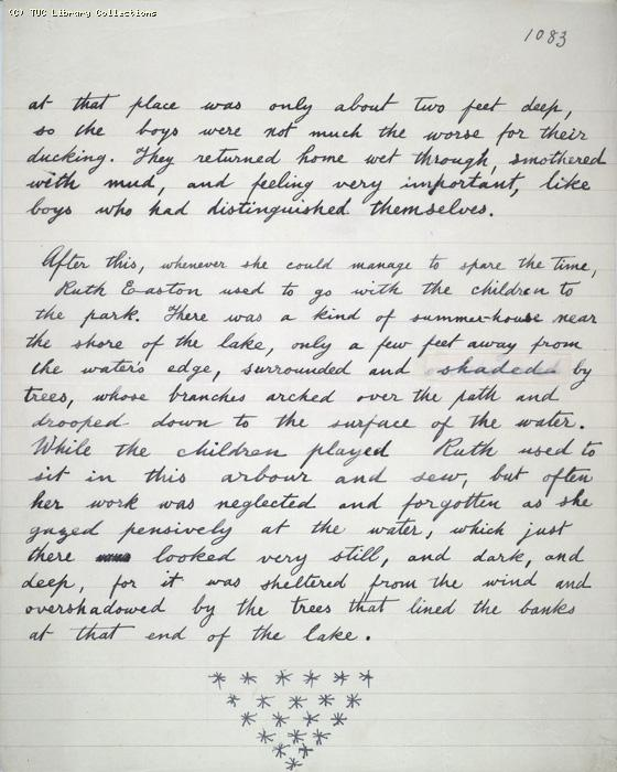 The Ragged Trousered Philanthropists - Manuscript, Page 1083