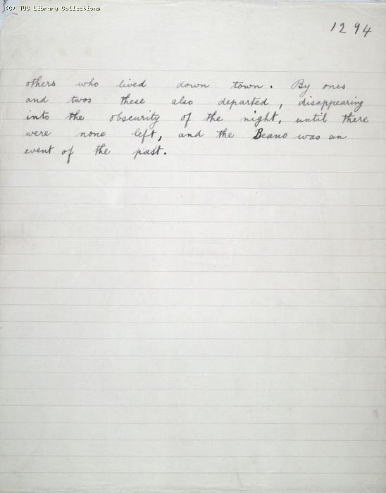 The Ragged Trousered Philanthropists - Manuscript, Page 1294