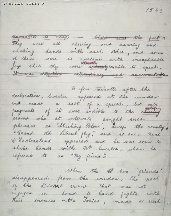 The Ragged Trousered Philanthropists - Manuscript, Page 1563