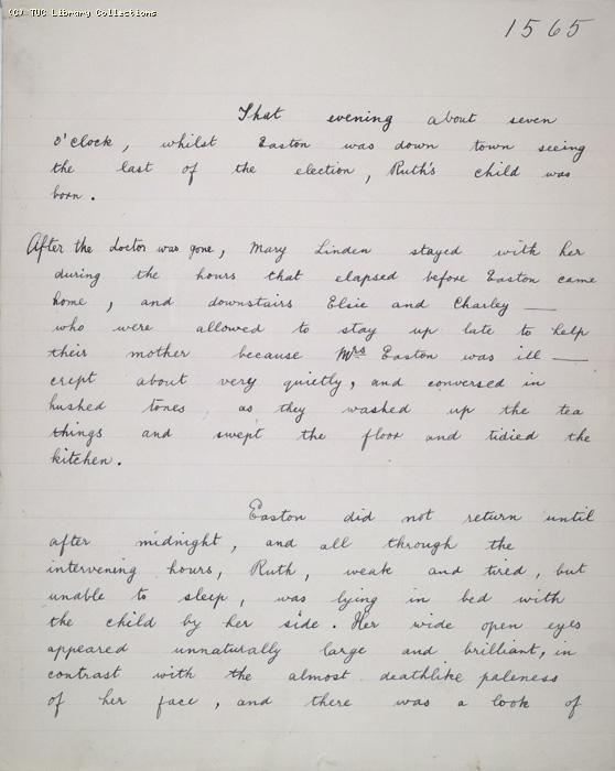 The Ragged Trousered Philanthropists - Manuscript, Page 1565