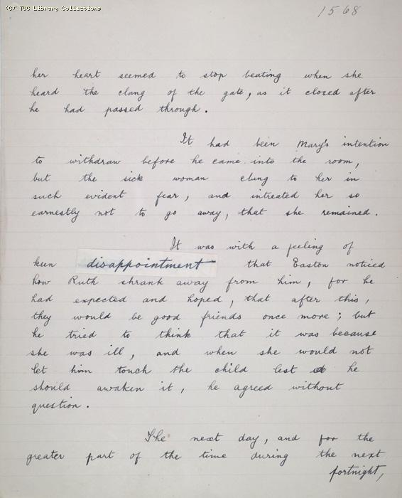 The Ragged Trousered Philanthropists - Manuscript, Page 1568