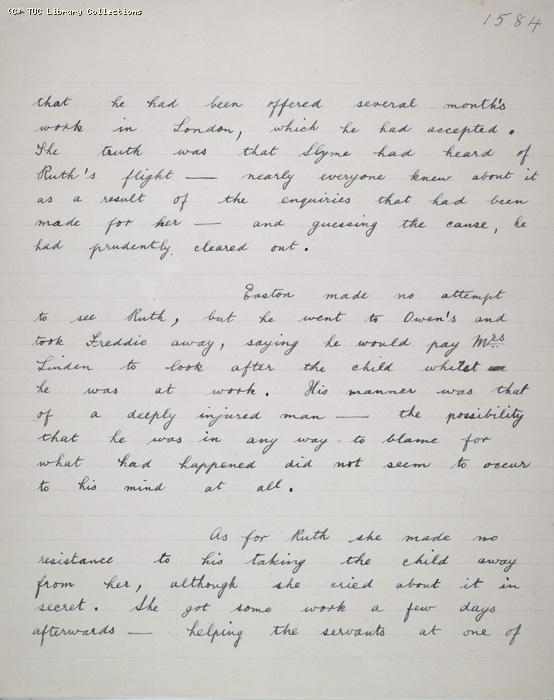 The Ragged Trousered Philanthropists - Manuscript, Page 1584