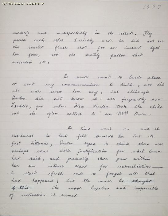 The Ragged Trousered Philanthropists - Manuscript, Page 1587