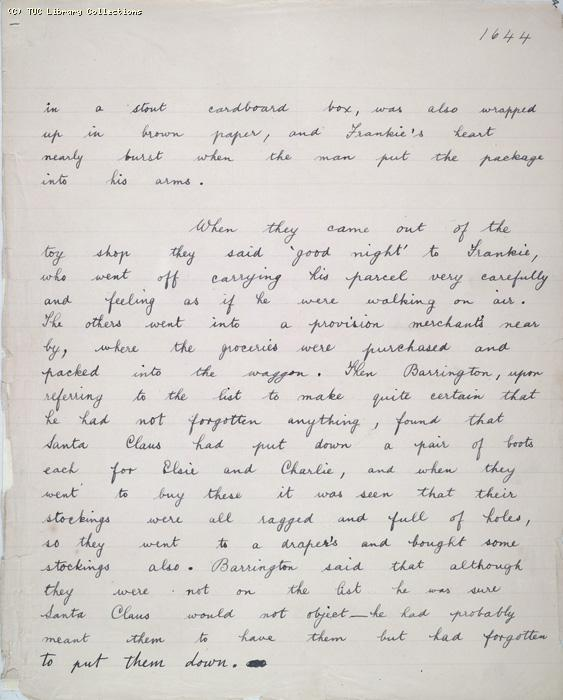 The Ragged Trousered Philanthropists - Manuscript, Page 1644