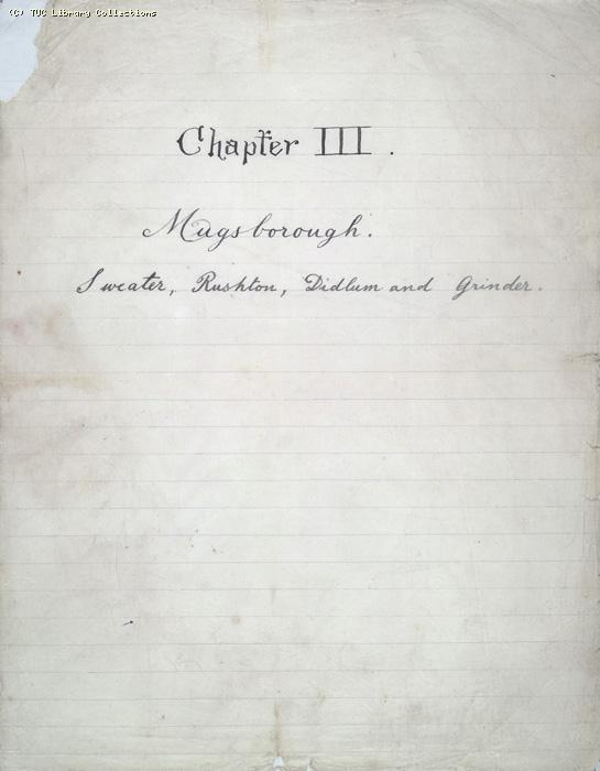 The Ragged Trousered Philanthropists - Manuscript, Appendix