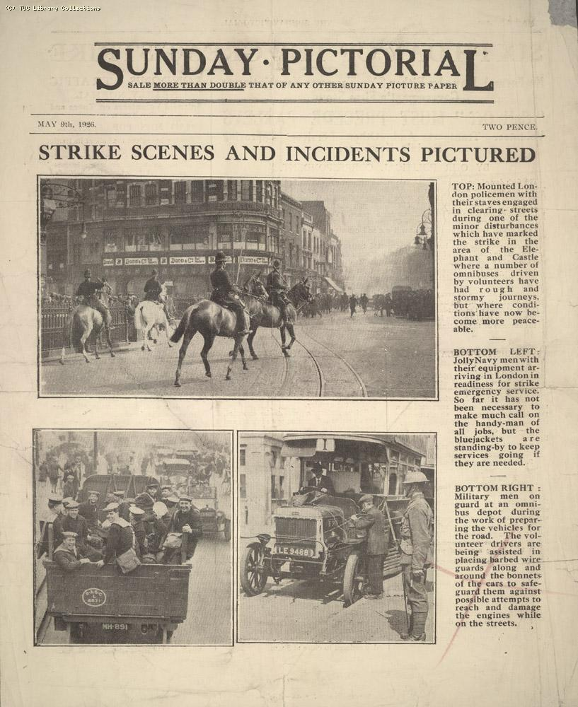 Sunday Pictorial, 9 May 1926