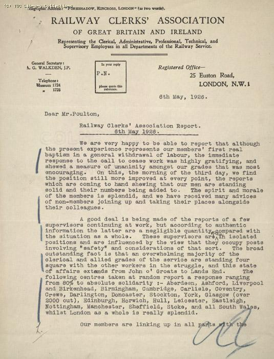 Report - RCA, 6 May 1926