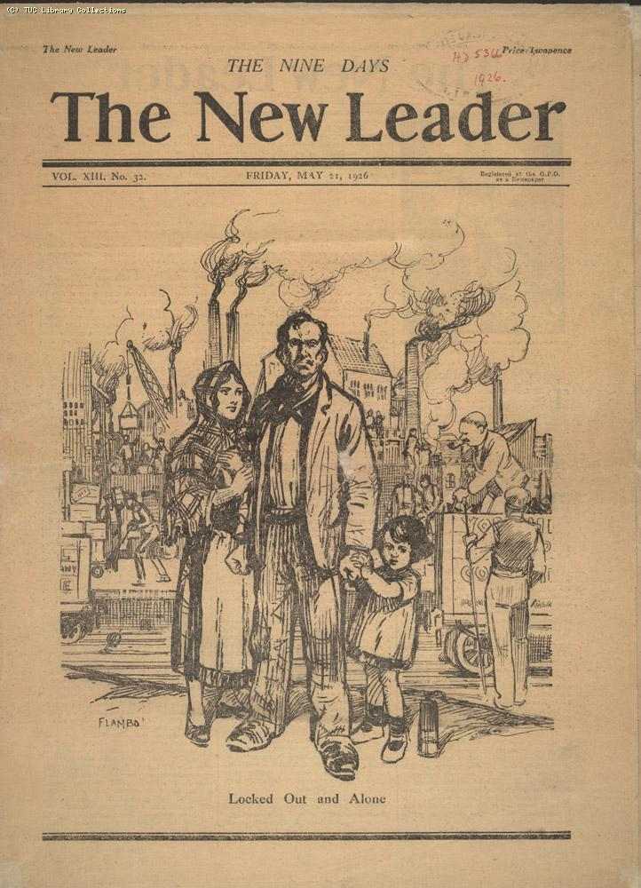 The New Leader, 21 May 1926