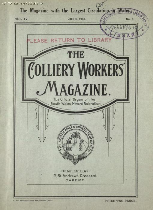 Colliers Workers Magazine
