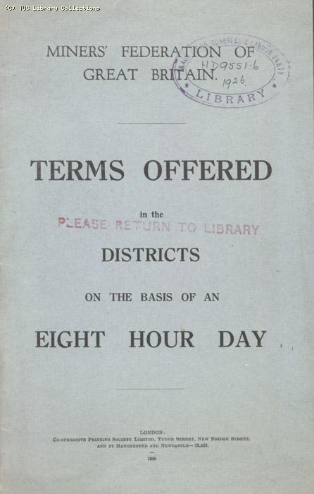 Terms offered in the districts