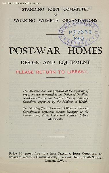 Post War Homes