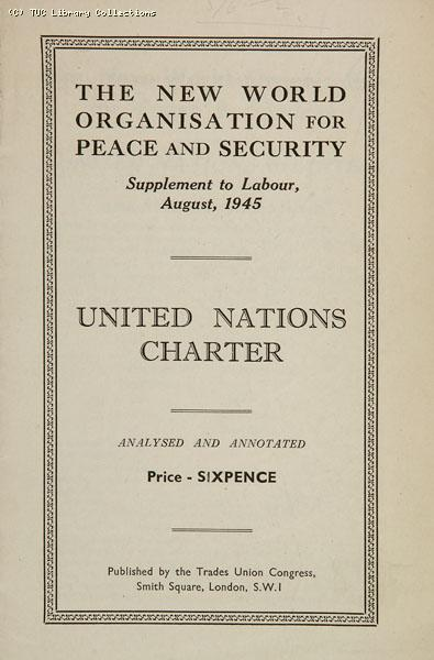 United Nations Charter, 1945