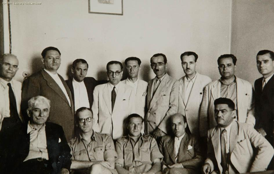 TUC delegation to Greece, February - June 1945