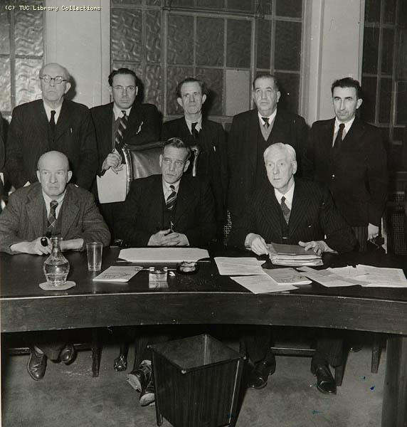 Anglo French Trade Union Council, 1945