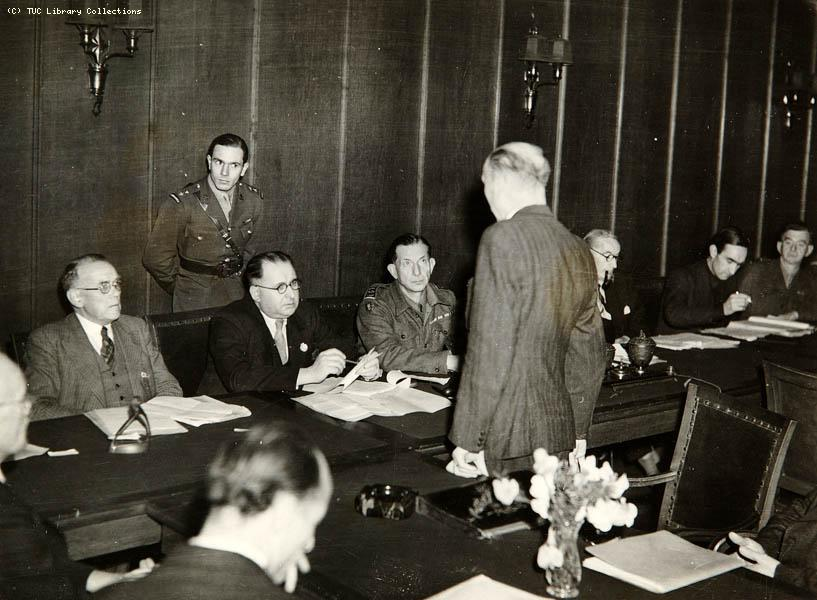 TUC Delegation to Germany, 1945