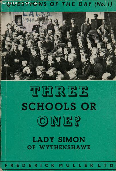 Three Schools or One, 1948