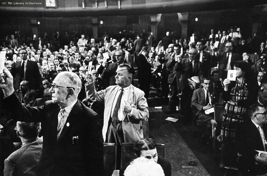 TUC Congress, Brighton, 1963