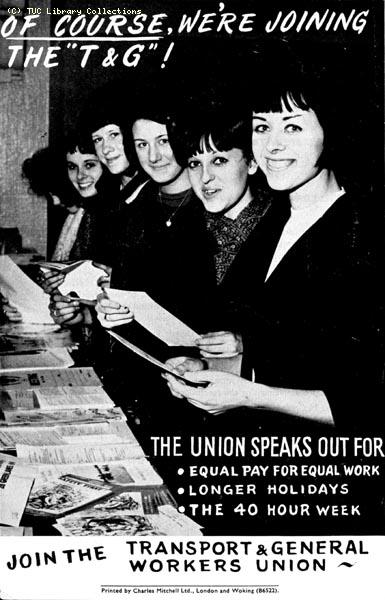 TGWU recruitment publicity, 1964
