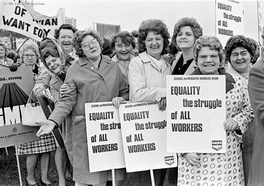 International Womens Year Rally, London, 1975