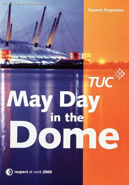 Souvenir Programme - May Day in the Dome, 2000