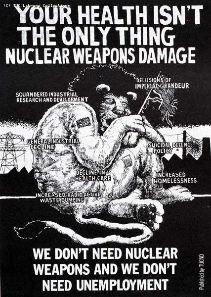 Disarmament leaflet, 1987