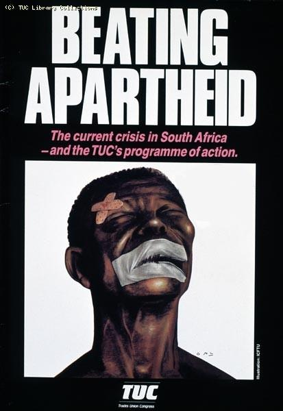 TUC booklet - Beating Apartheid
