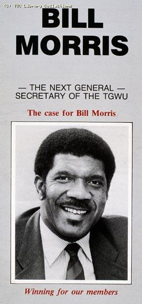 Bill Morris, election leaflet, 1991
