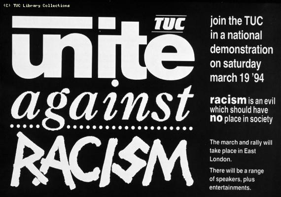 Unite Against Racism demonstration, 1994