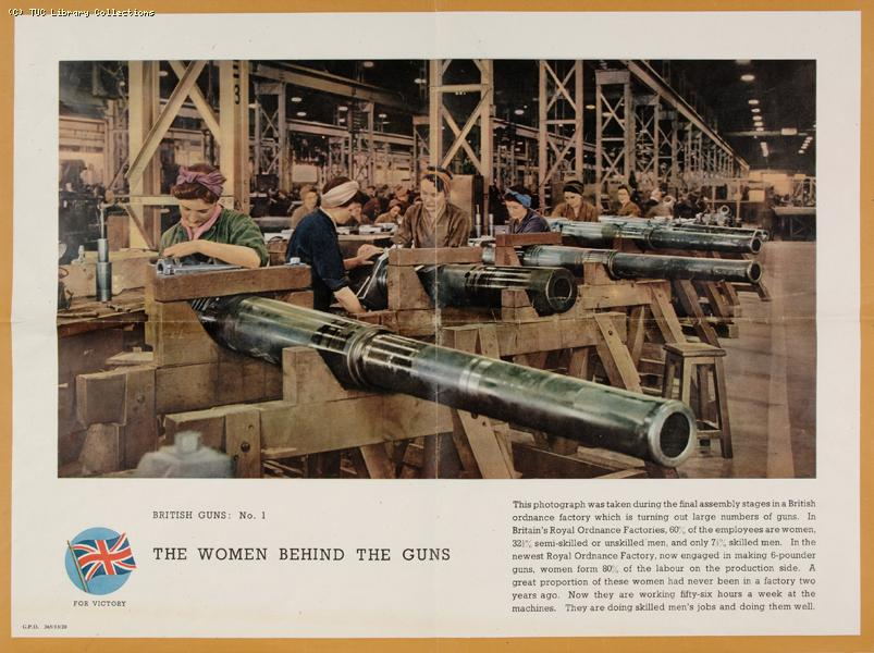 Women in arms production, 1940-1945
