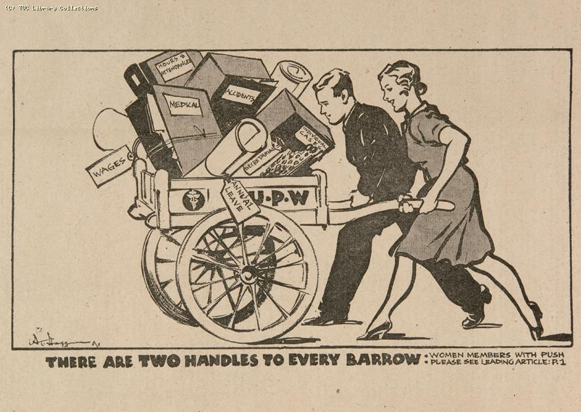 'Two handles to every barrow', 1941