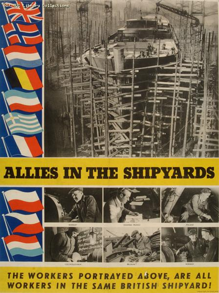 Allies in the shipyard, 1940-1945