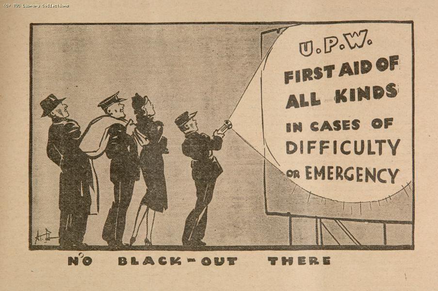 'No black out there', 1939